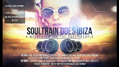 Click for the Soultrain Does IBIZA flyer
